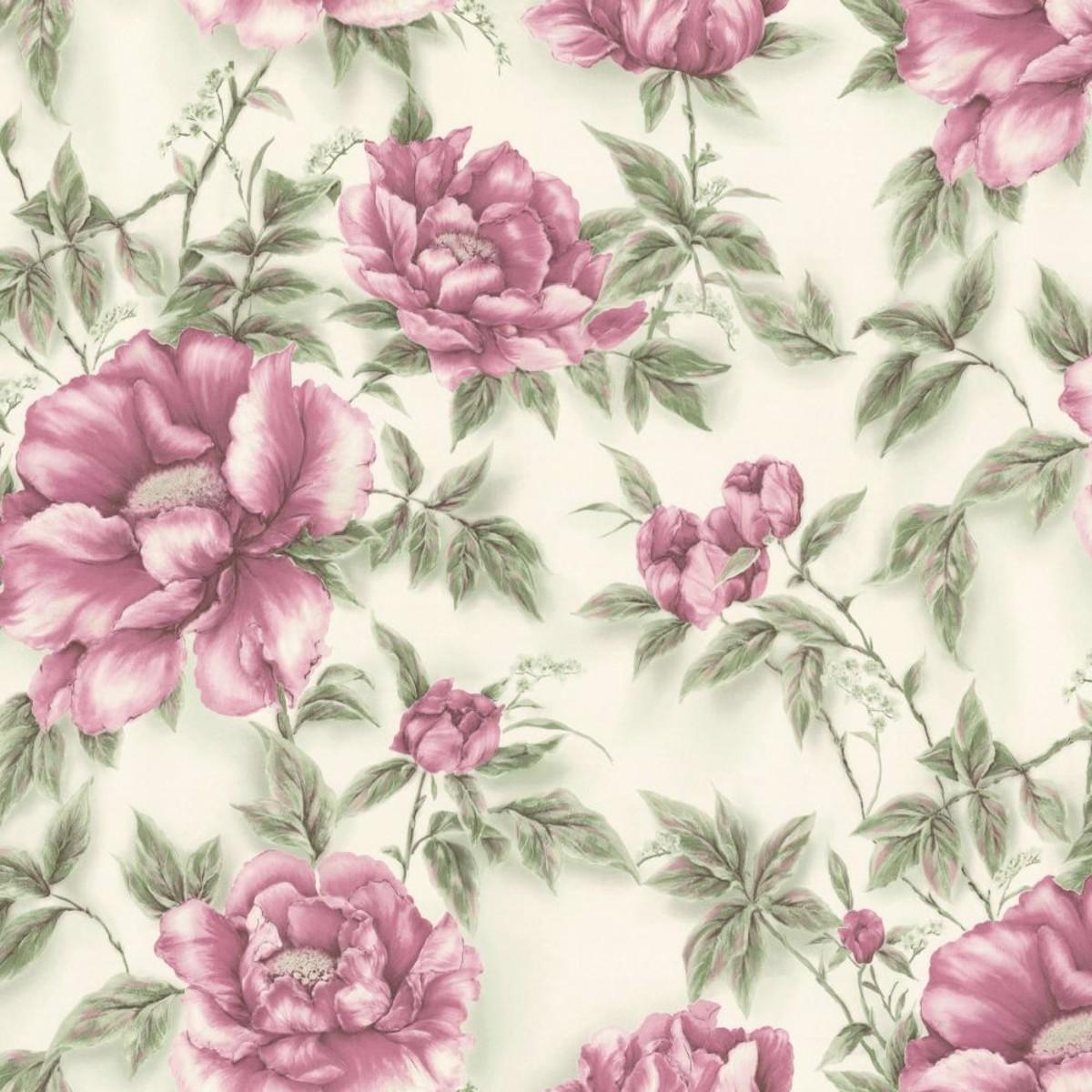Обои флизелиновые Home Color Pion розовые HC71519-15 1.06 м
