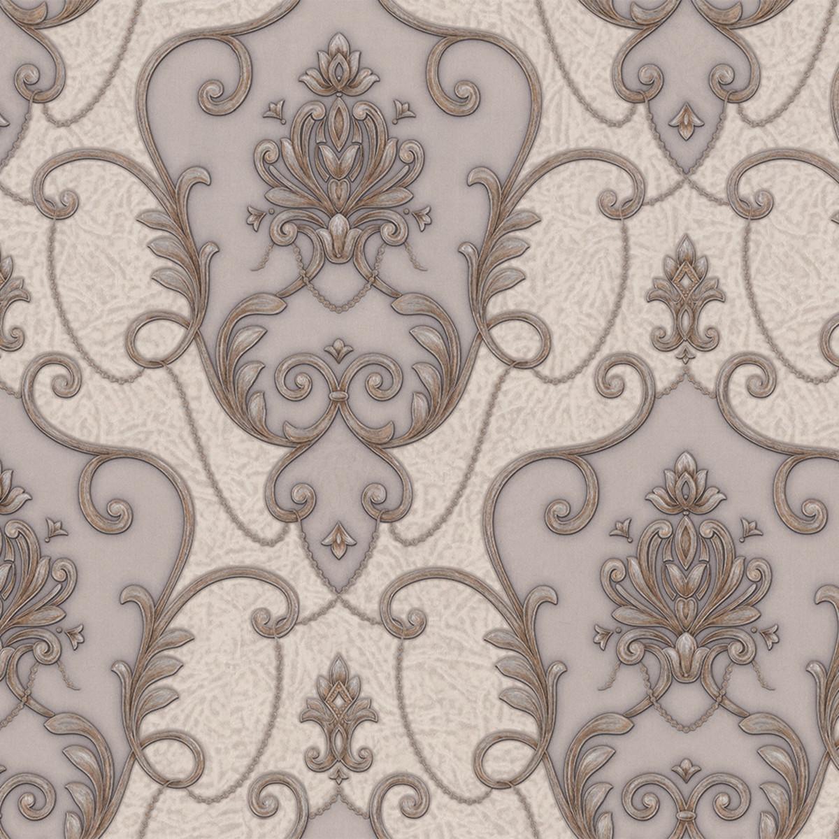 Обои флизелиновые ПАЛИТРА Corinf коричневые PL71509-28 1.06 м