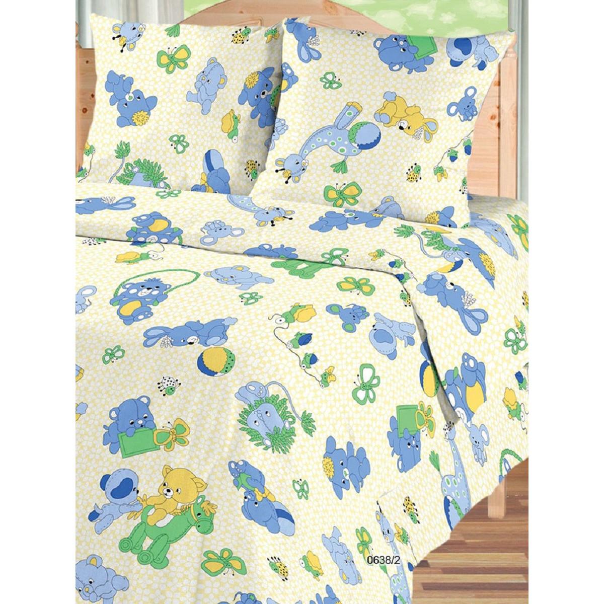 Детское постельное белье Текстильная лавка Игрушки бязь
