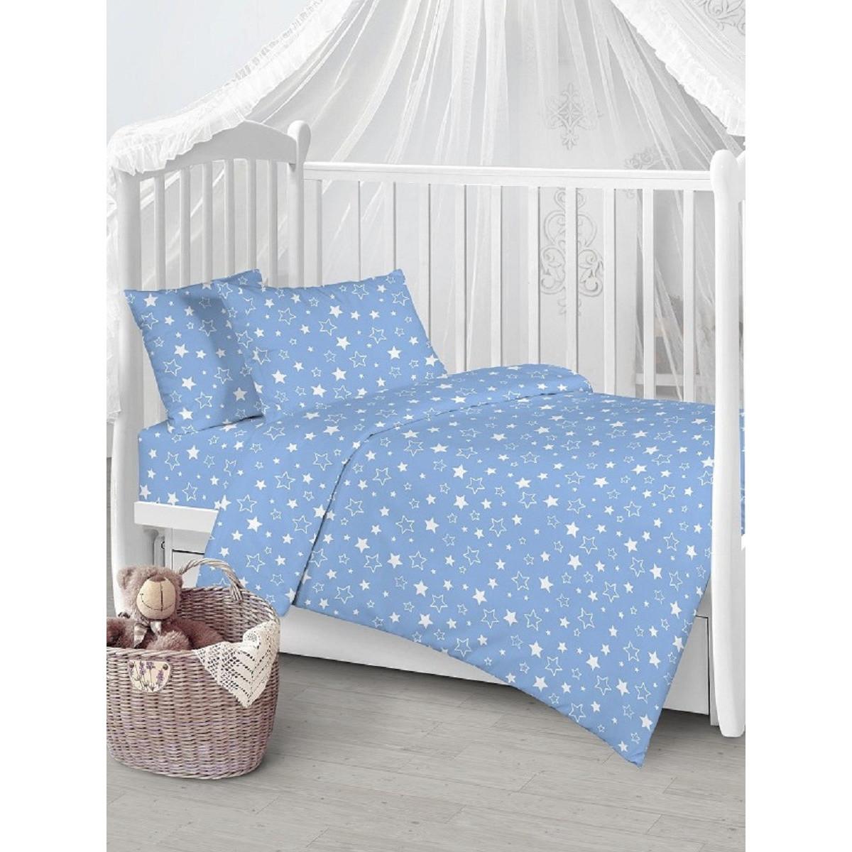 Детское постельное белье Текстильная лавка Звезды бязь