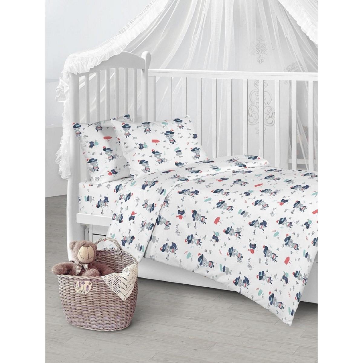 Детское постельное белье Текстильная лавка Кот в сапогах бязь