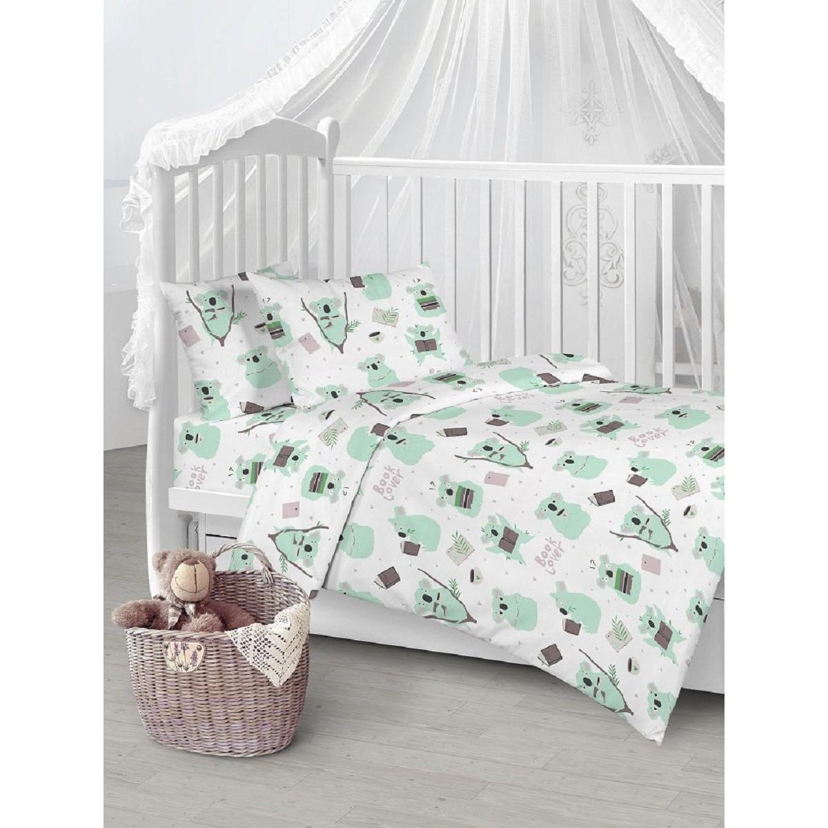 Детское постельное белье Текстильная лавка Коалы бязь