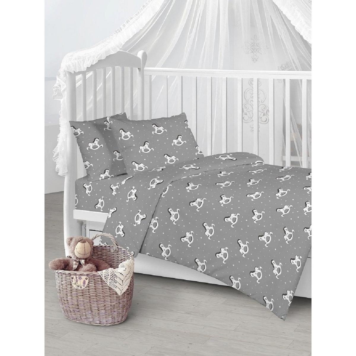 Детское постельное белье Текстильная лавка Единороги бязь