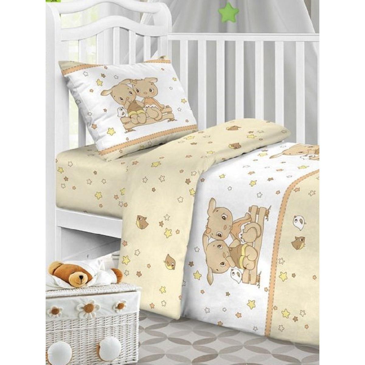 Детское постельное белье Текстильная лавка Друзья бязь