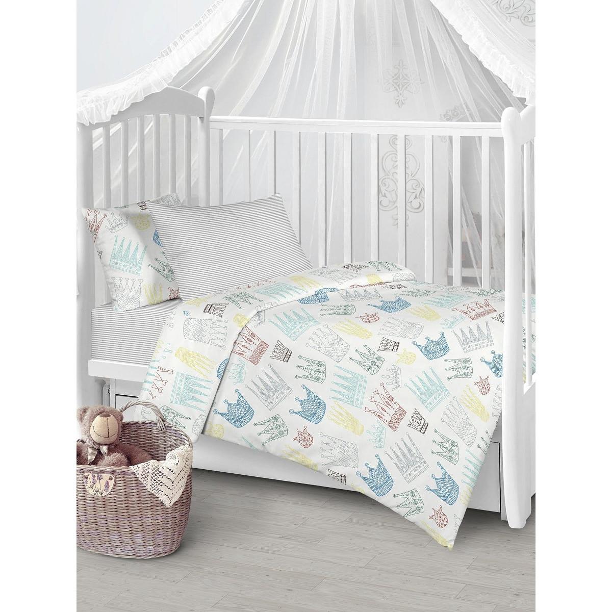 Детское постельное белье Текстильная лавка Принц и принцесса бязь