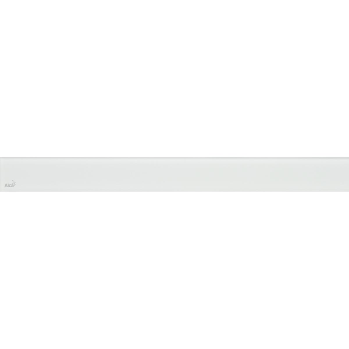 Решетка для трапа AlcaPlast GL1200-850 стекло белое
