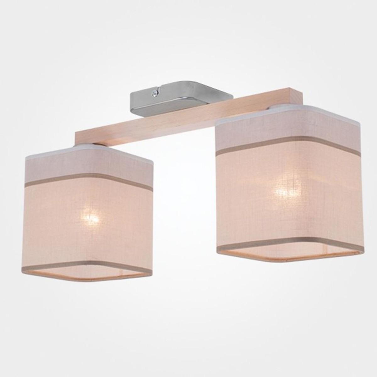 Светильник настенно-потолочный TK Lighting Nadia 1917 Nadia White 2 цвет белый