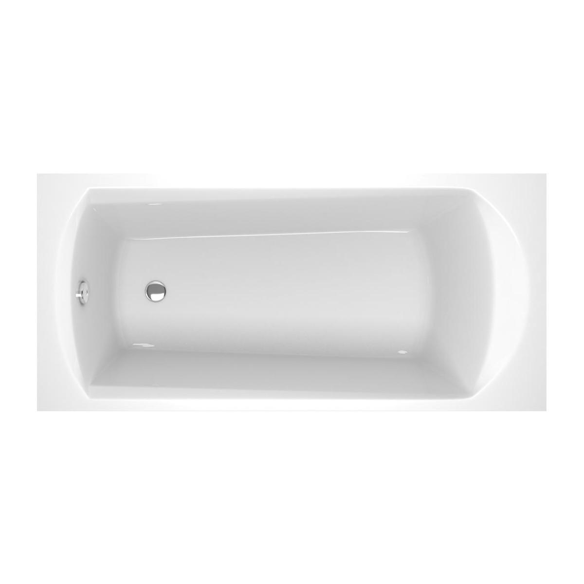 Акриловая прямоугольная ванна Ravak Domino 170х75 см C631000000