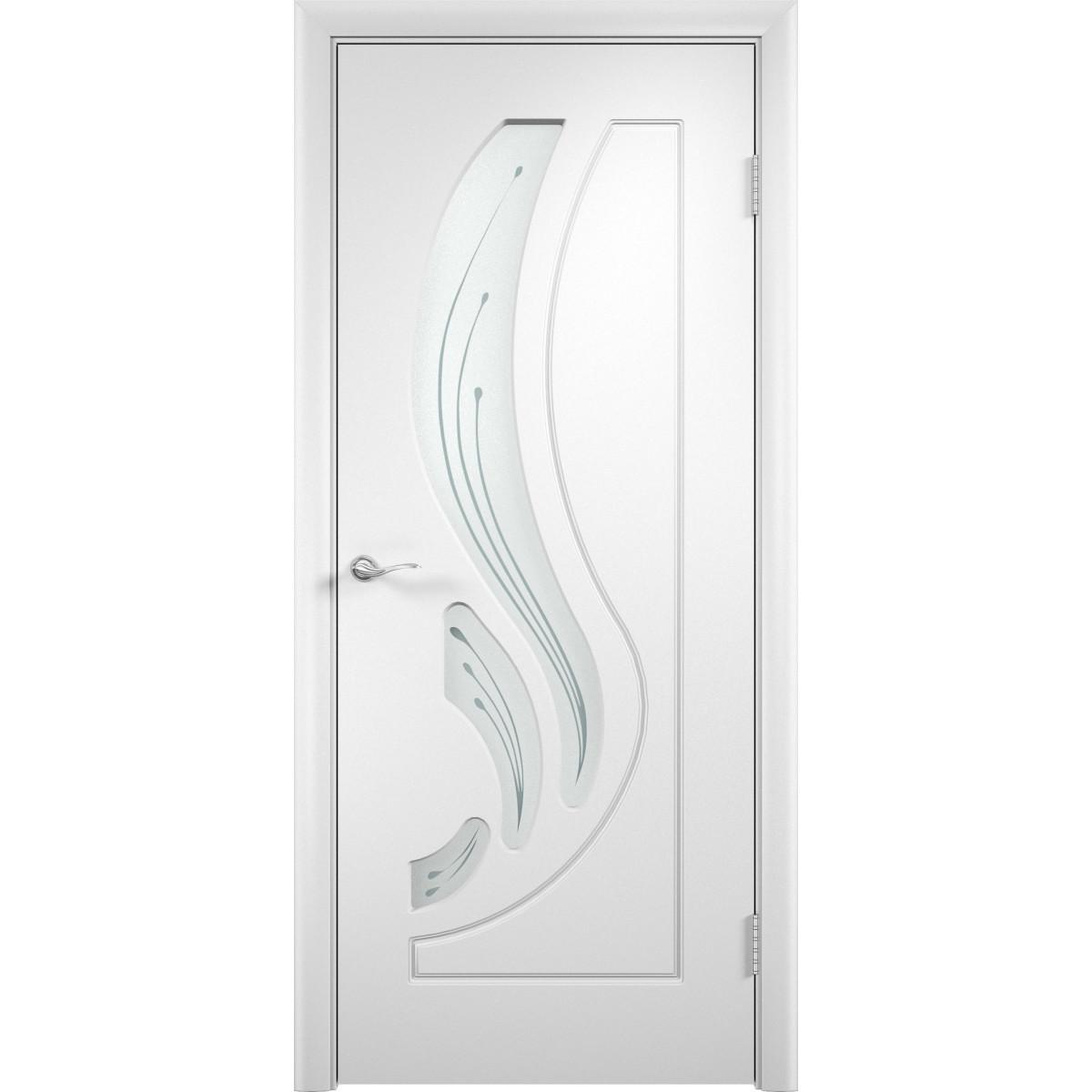 Дверное полотно Verda Лиана МП_0407 2000х900х40 мм МДФ