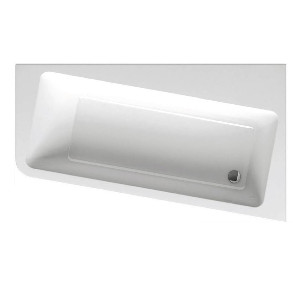Акриловая ассиметричная ванна Ravak 10 градусов 160x95 см правая