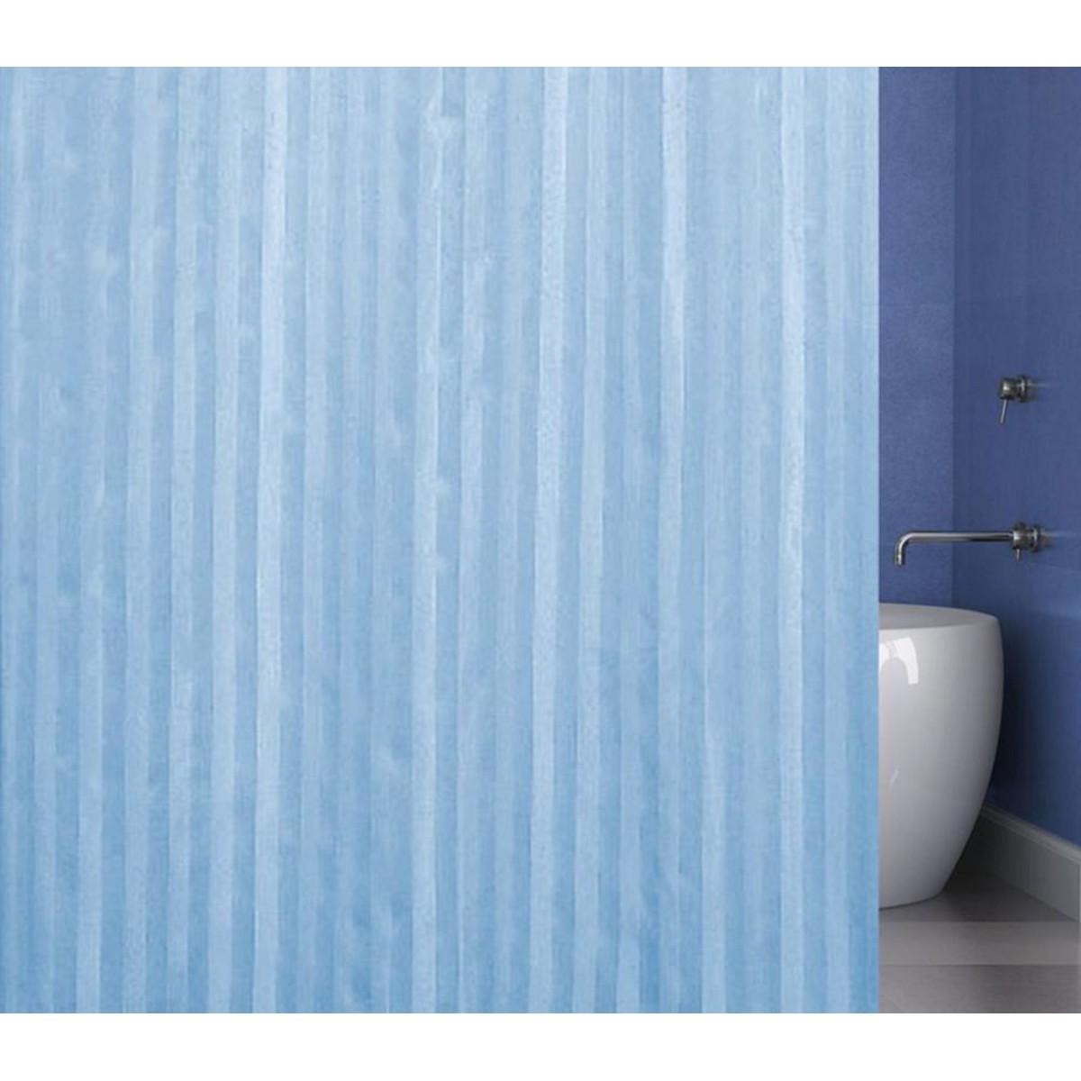 Штора для ванной Bath Plus BIG 240x200 голубой