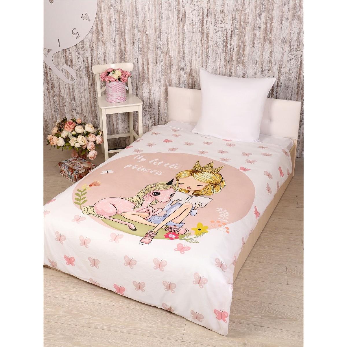 Комплект постельного белья полутораспальный Текстильная лавка Принцесса сатин