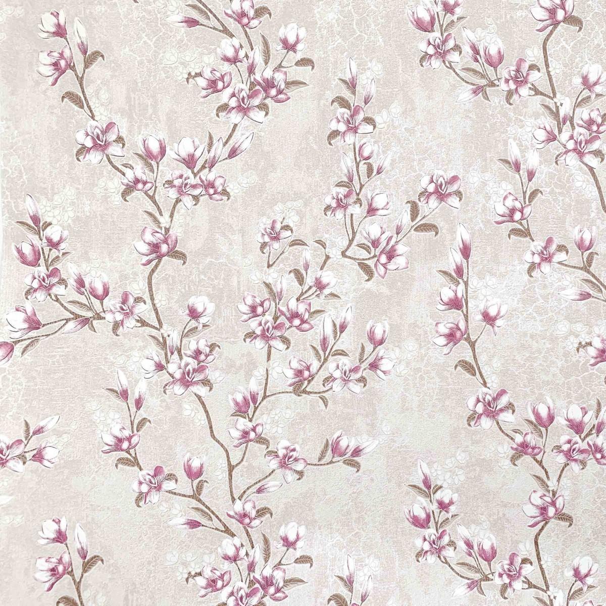 Декоративные обои Индустрия Magnolia бежевые 1.06 м 167087-94