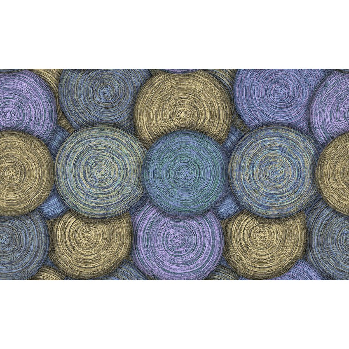 Обои флизелиновые Erismann Adele синие 1.06 м 6165-6