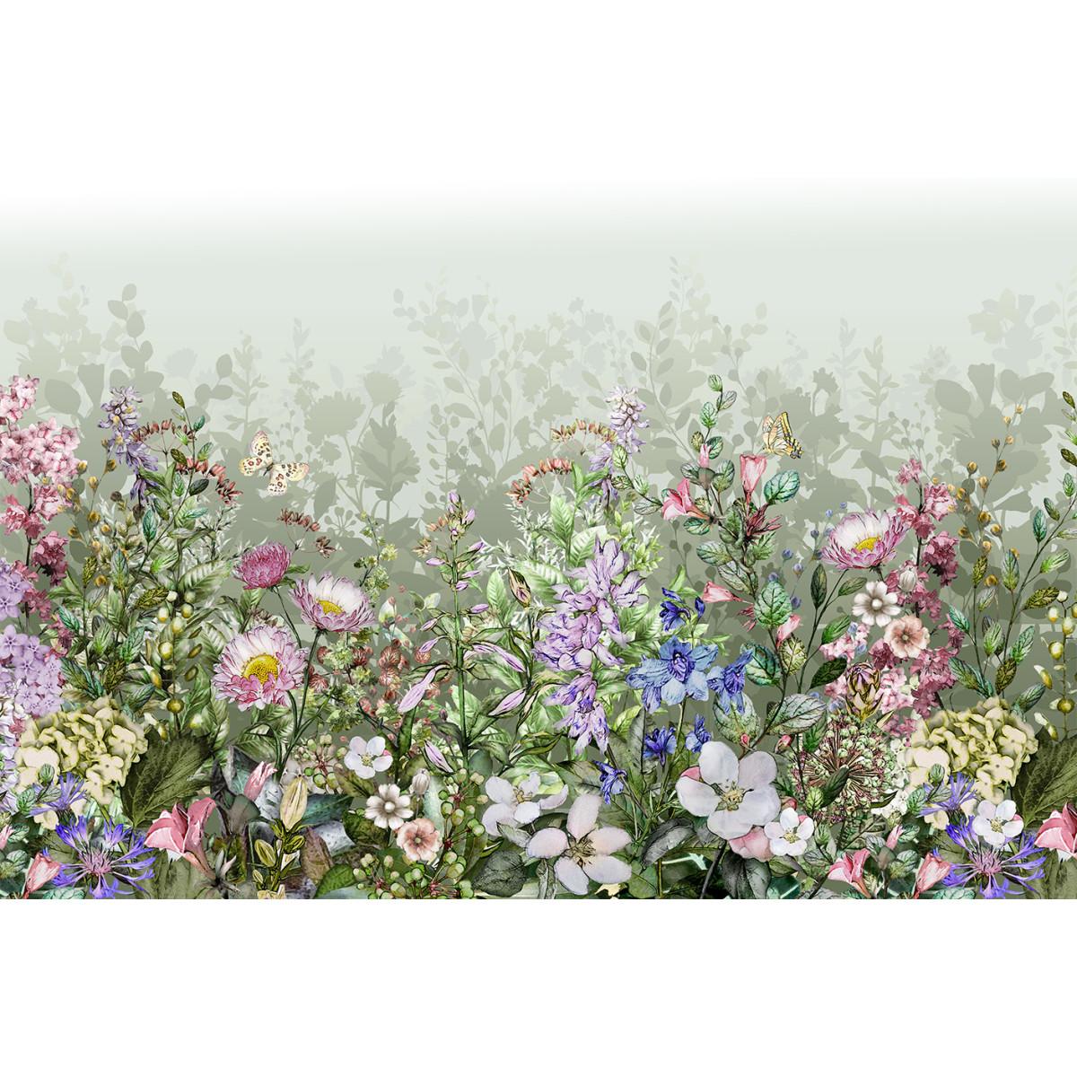Фотообои МИР Полевые цветы MIR-6054-V4 380х270 см