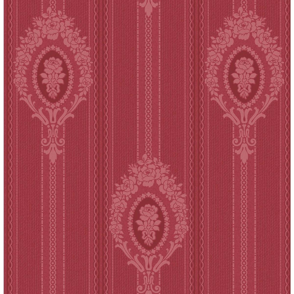 Виниловые обои Aura красные DE40821 0.53 м