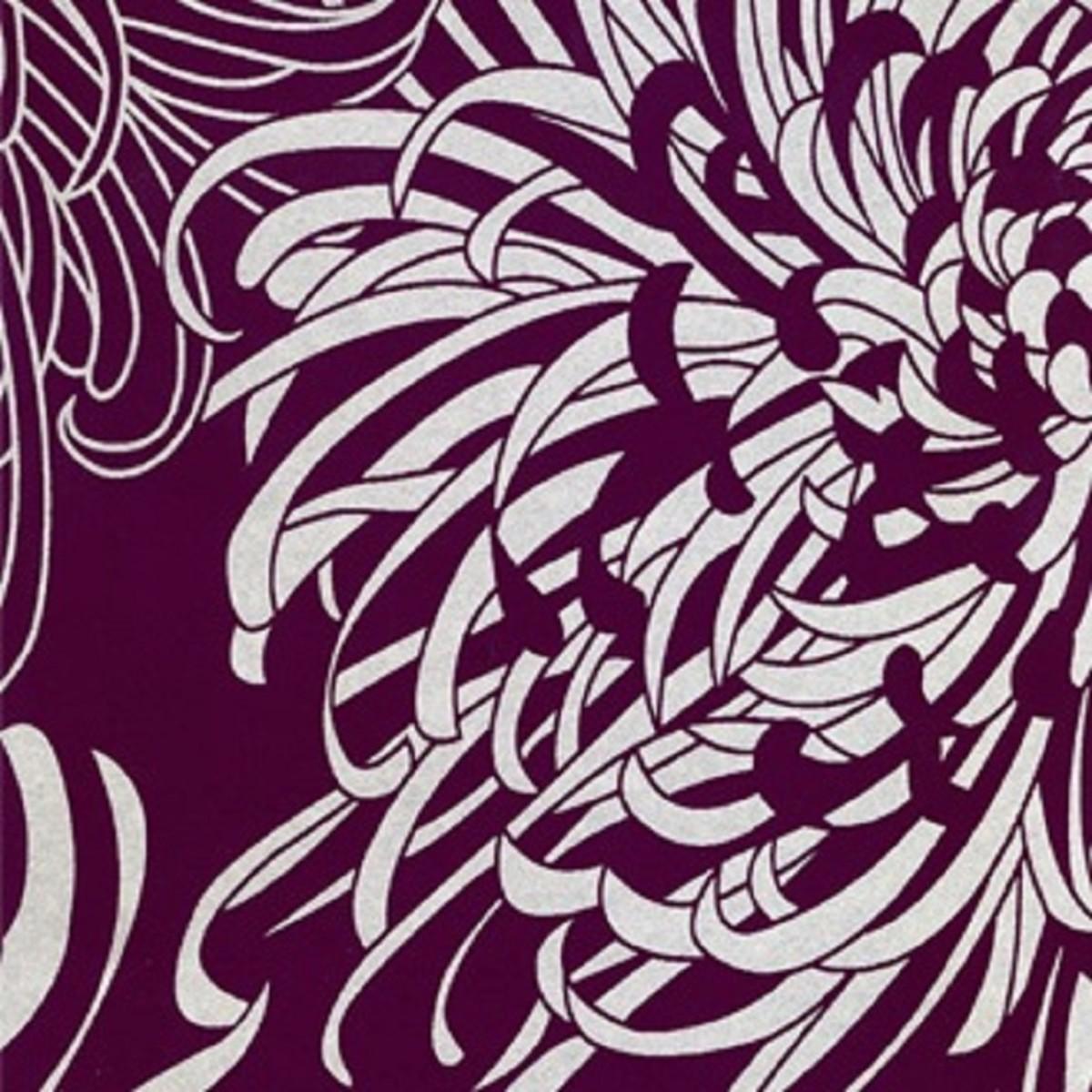 Флизелиновые обои Graham &amp Brown фиолетовые 17833 0.52 м
