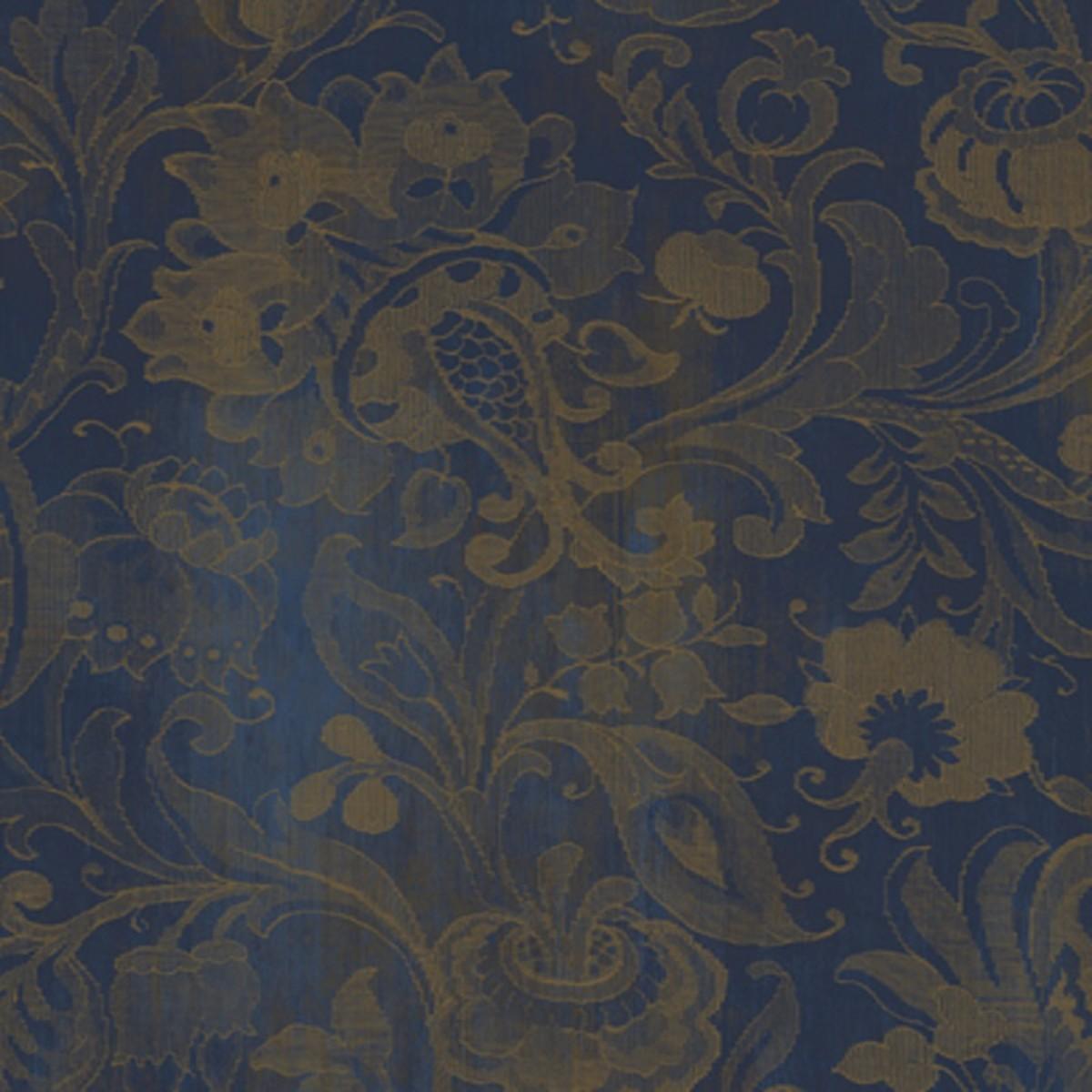 Виниловые обои York Wallcoverings синие TH6332 0.68 м