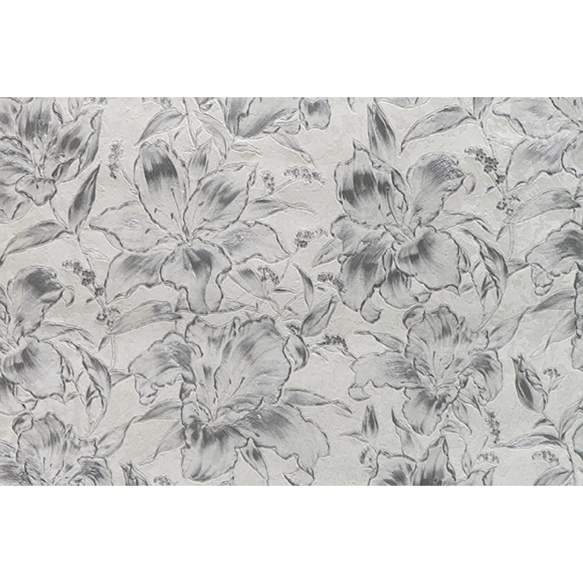 Обои флизелиновые Melody Блисс Муар белые 47602 1.06 м