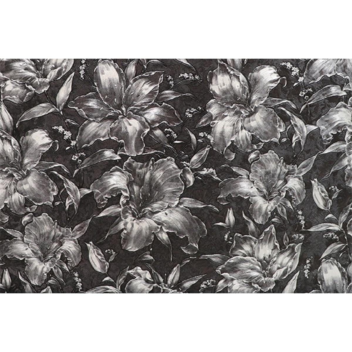 Обои флизелиновые Melody Блисс Муар черные 47609 1.06 м