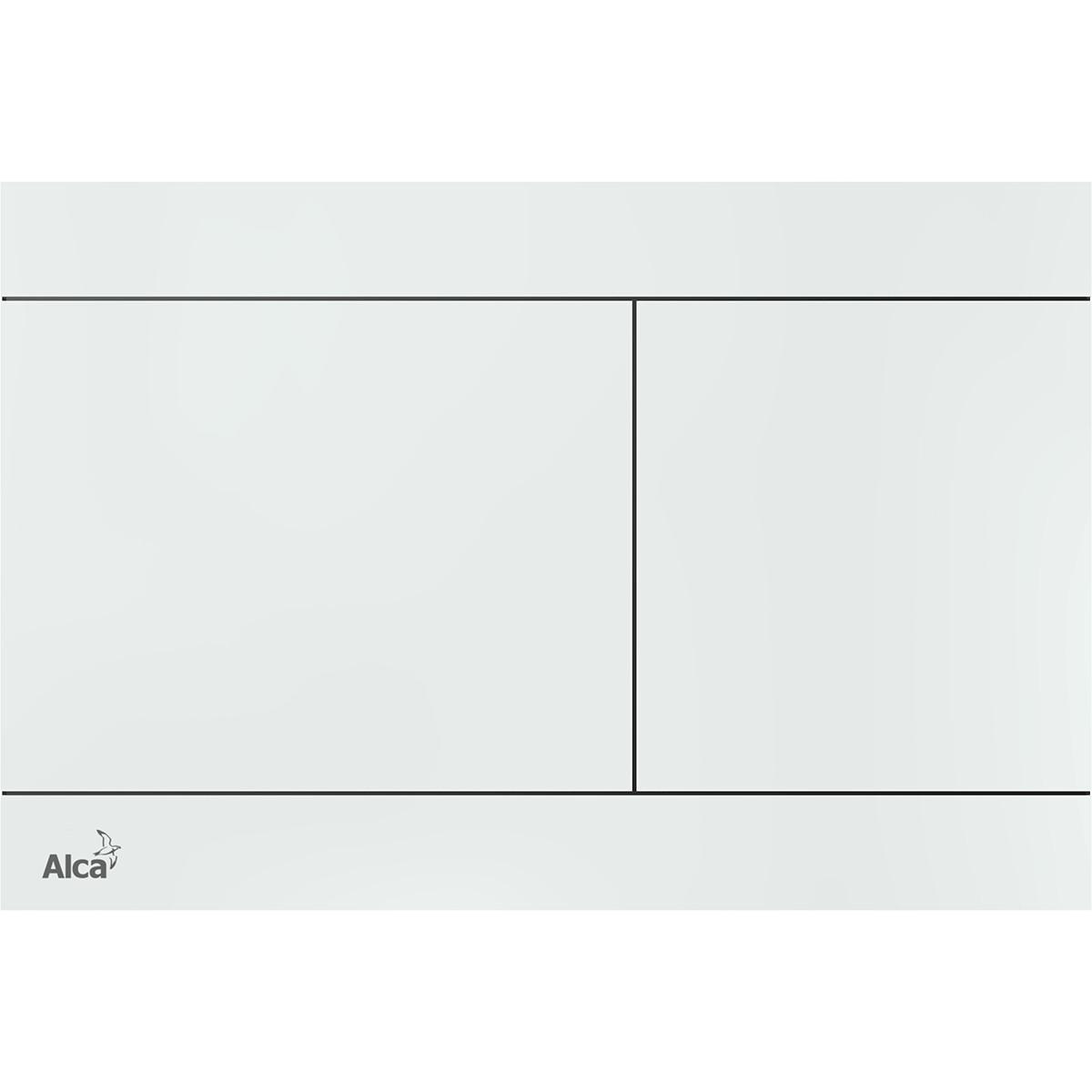 Панель смыва AlcaPlast FUN-WHITE