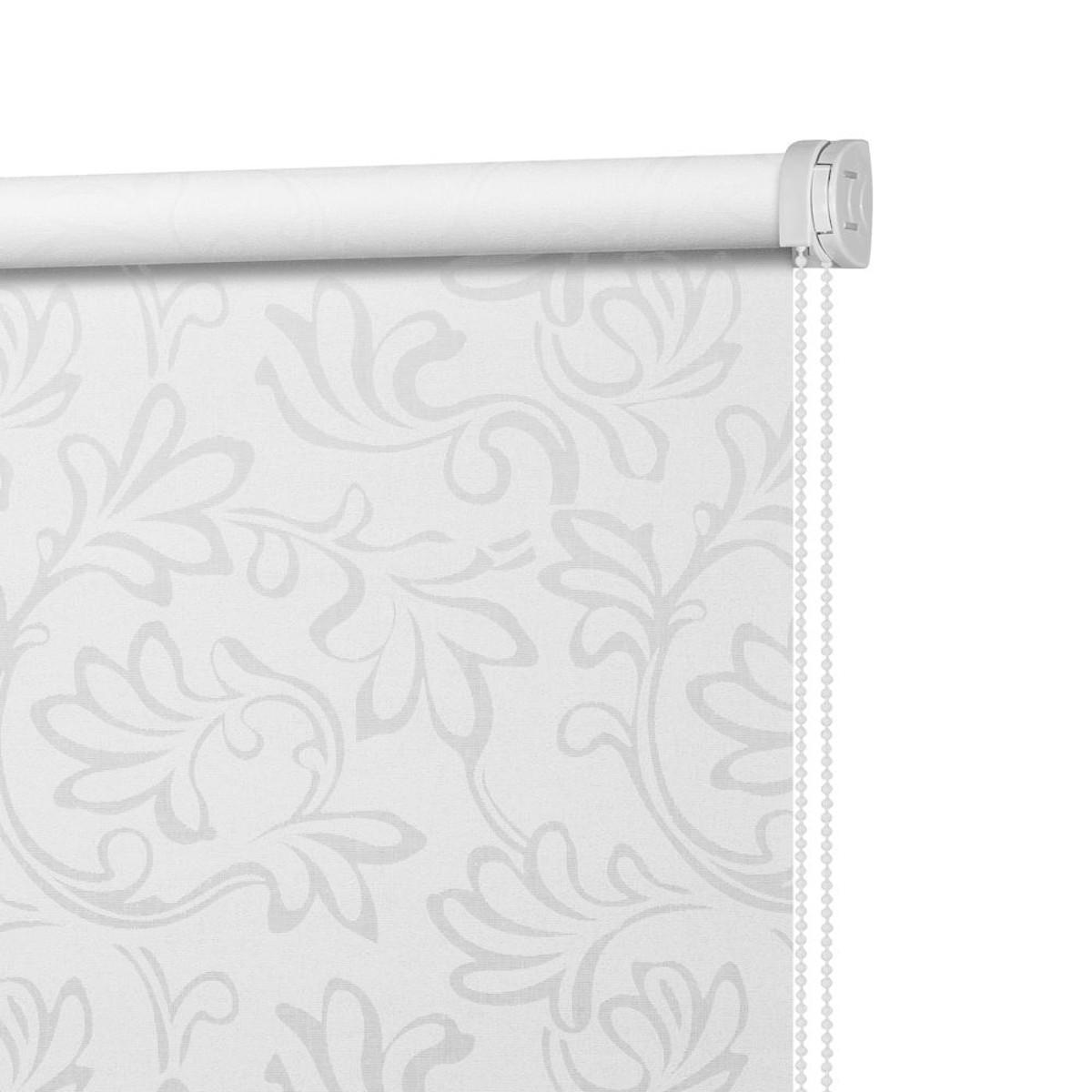 Рулонная Ора Decofest Бернаут Нежность 160Х175 Цвет Белый