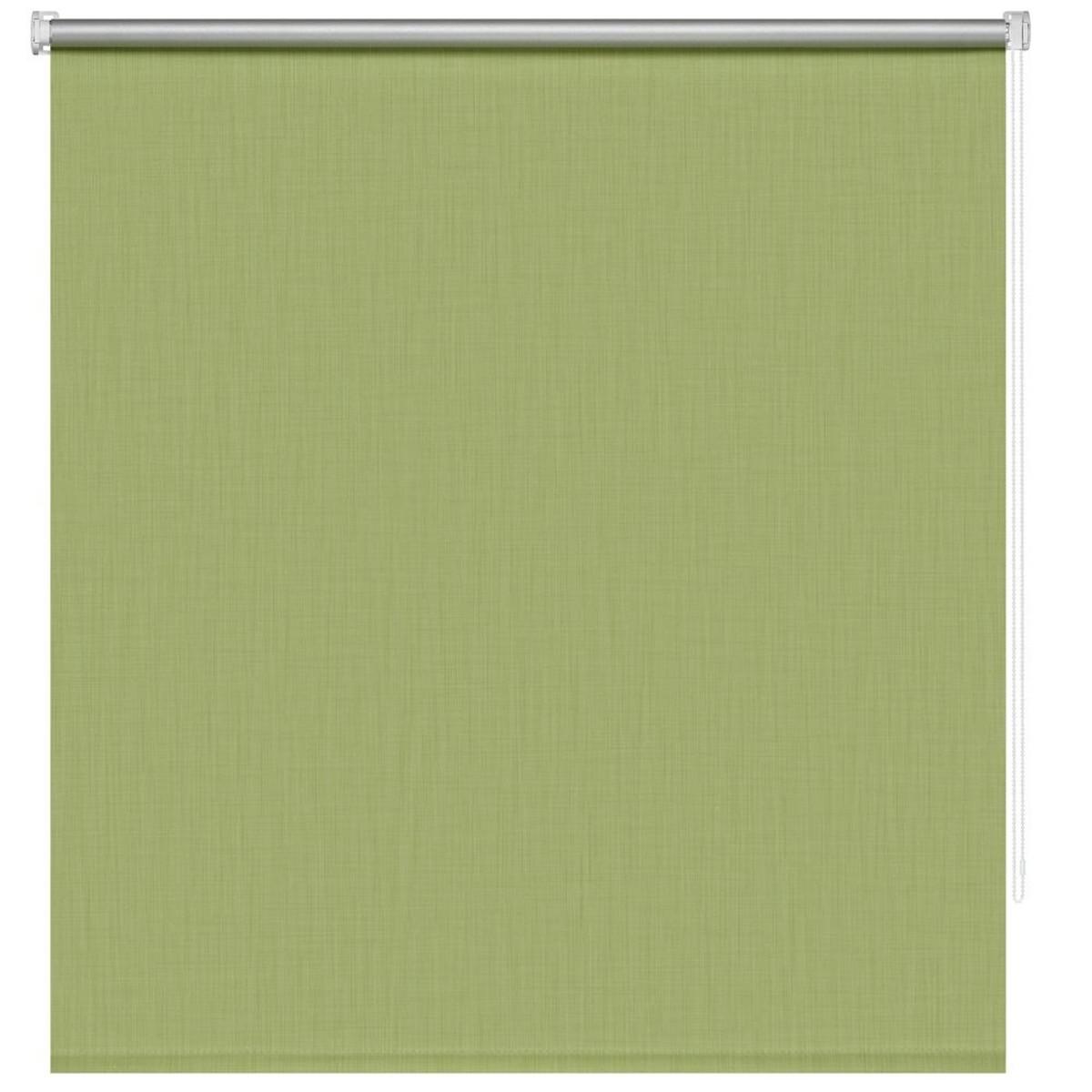 Рулонная Ора Decofest Блэкаут Селия 140Х175 Цвет Зеленый