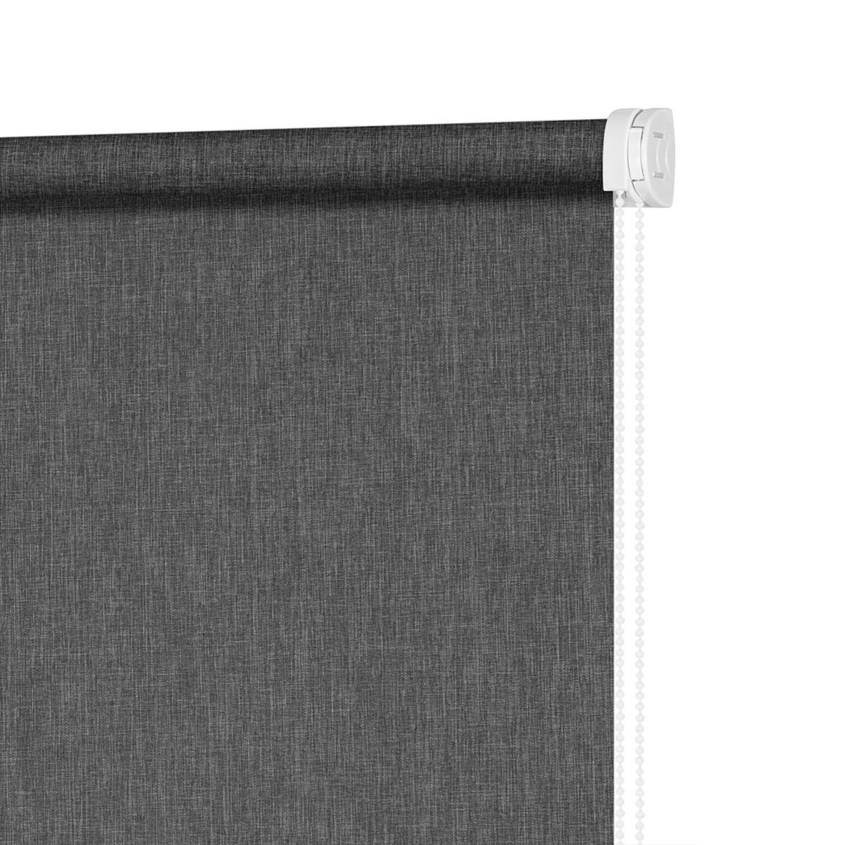 Рулонная Ора Decofest Меланж 140Х175 Цвет Серый