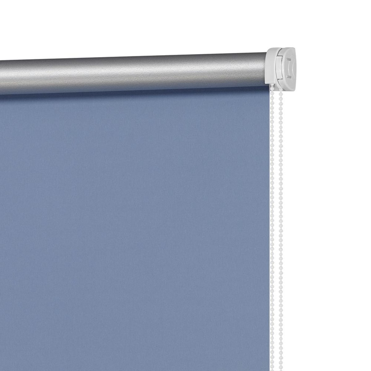 Рулонная Ора Decofest Блэкаут Плайн 140Х175 Цвет Синий
