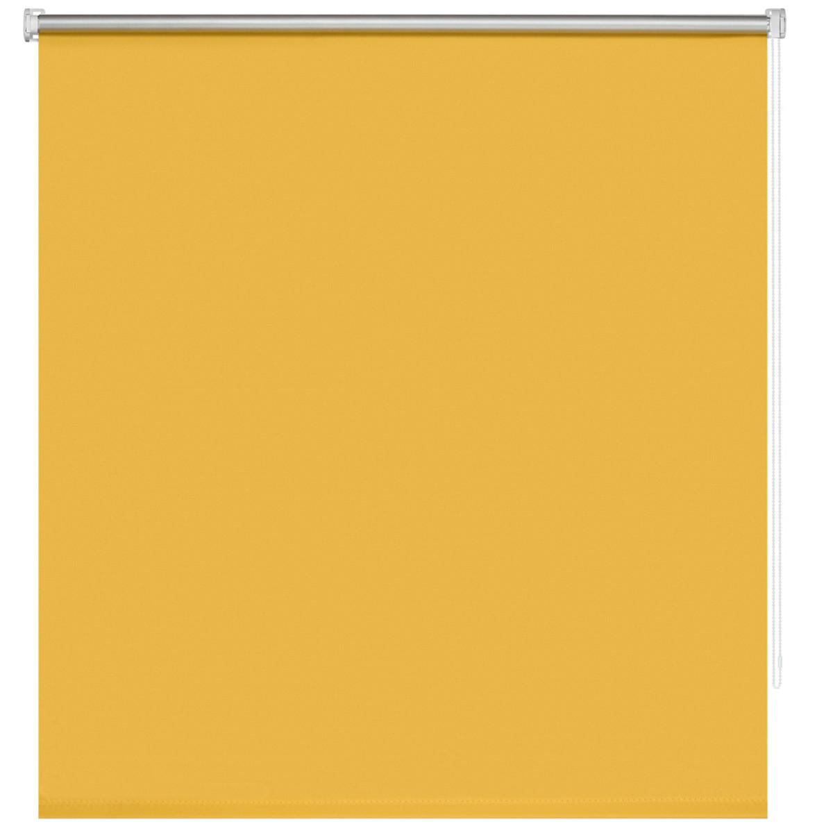 Рулонная Ора Decofest Блэкаут Плайн 140Х175 Цвет Желтый