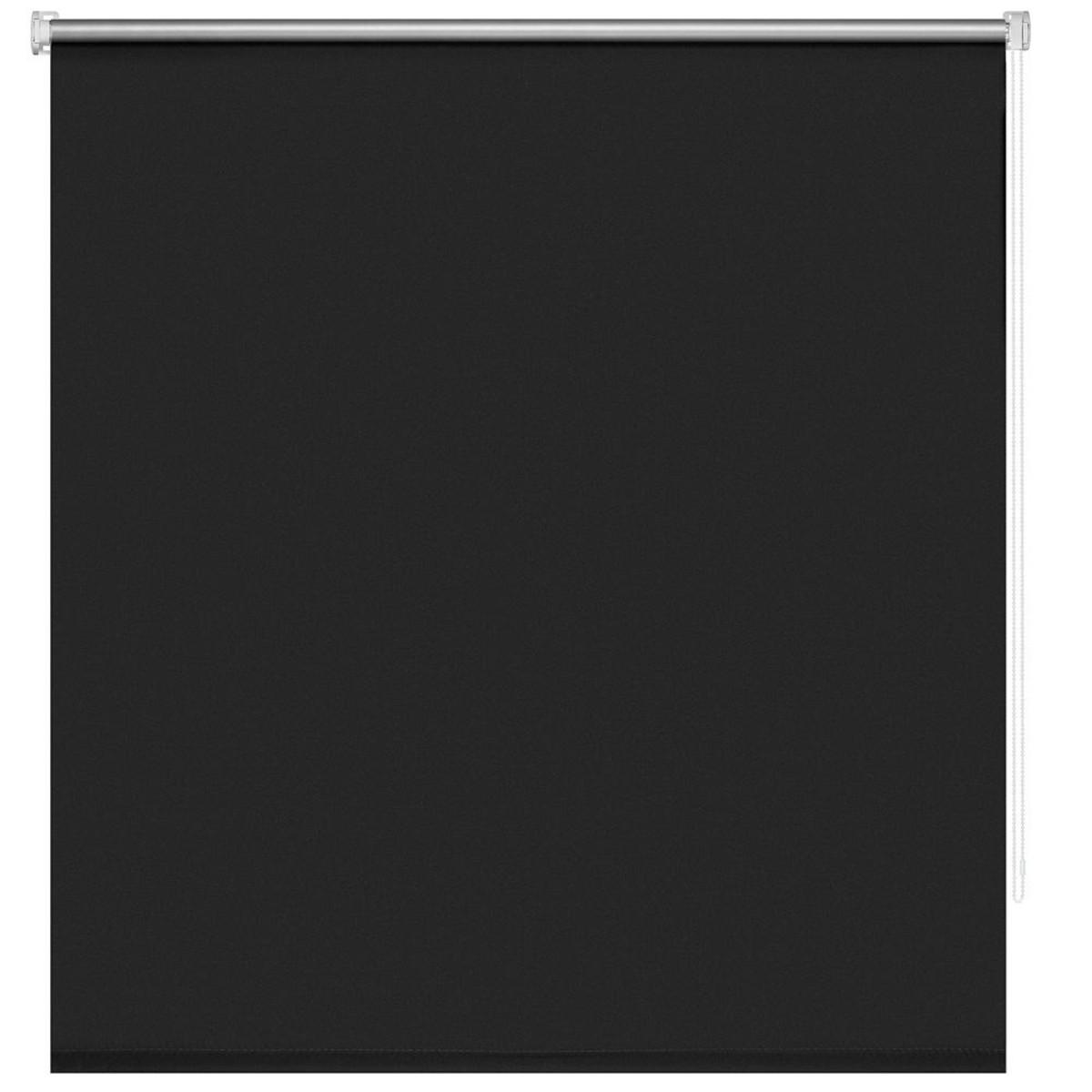 Рулонная Ора Decofest Блэкаут Плайн 140Х175 Цвет Черный