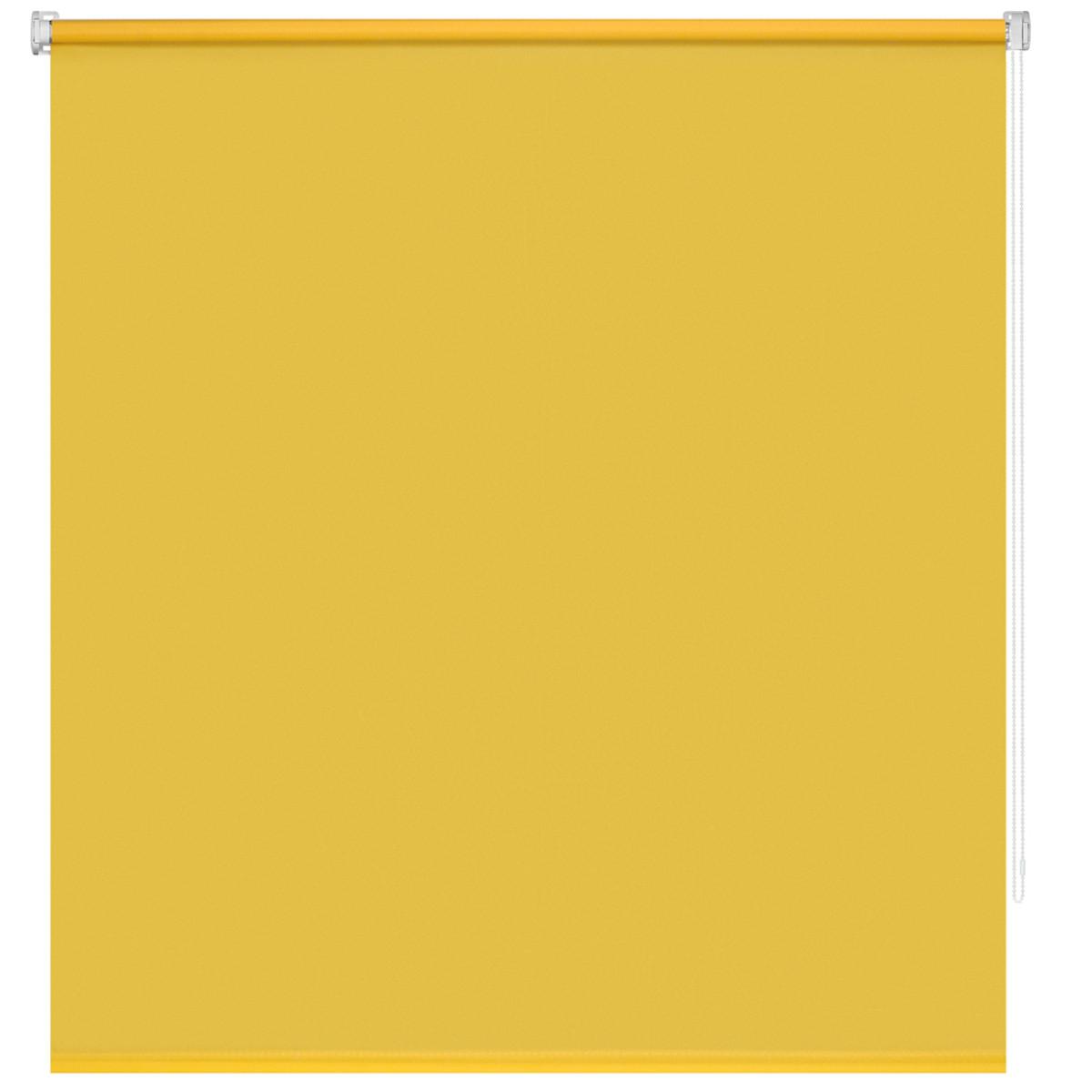 Рулонная Ора Decofest Плайн 140Х175 Цвет Желтый