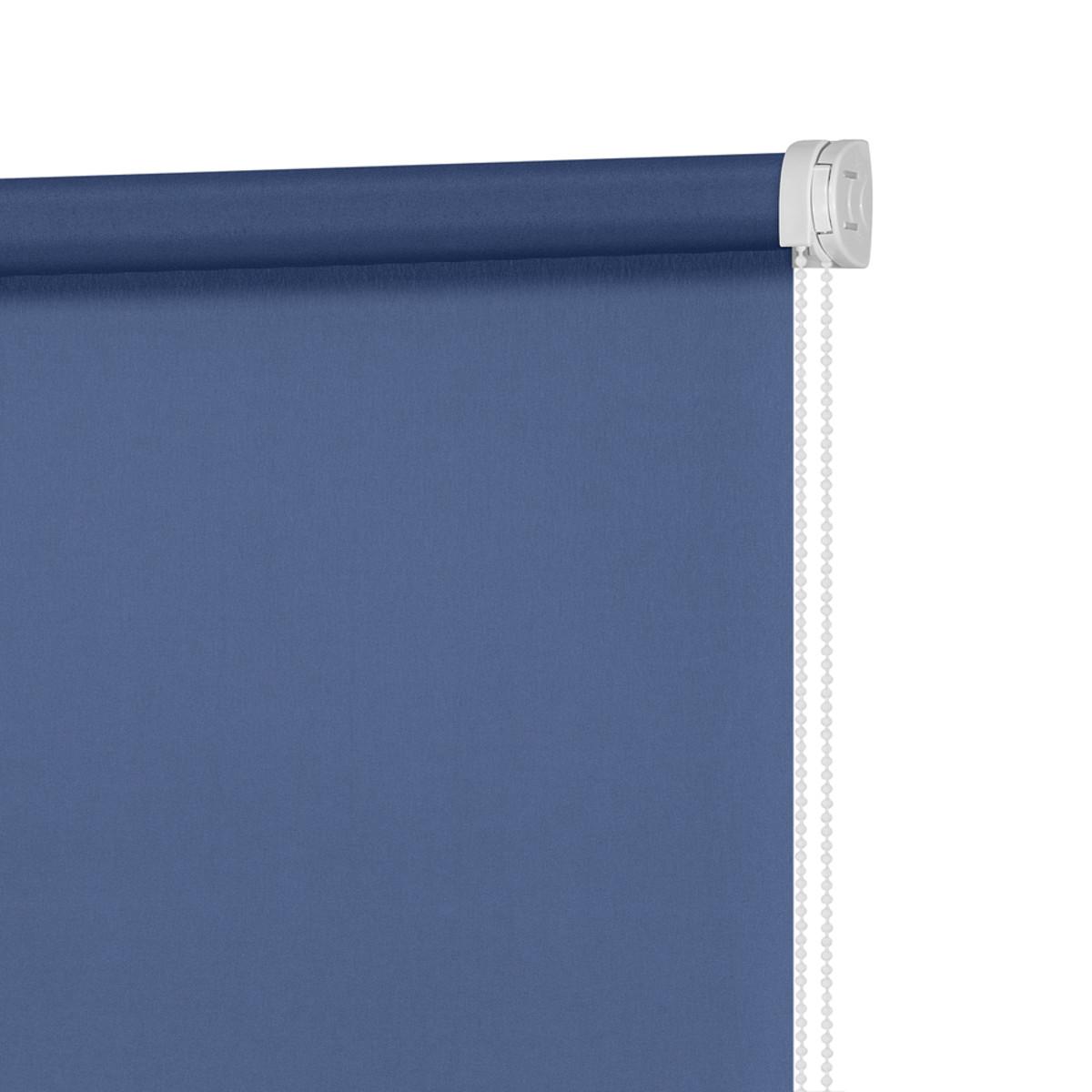 Рулонная Ора Decofest Плайн 140Х175 Цвет Синий