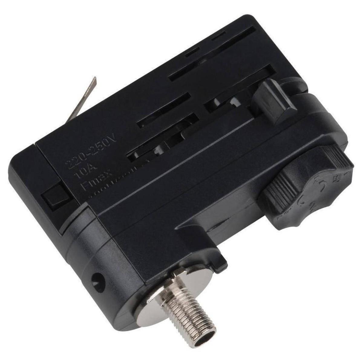 Адаптер для трехфазного шинопровода Uniel UBX-A 09788 пластик