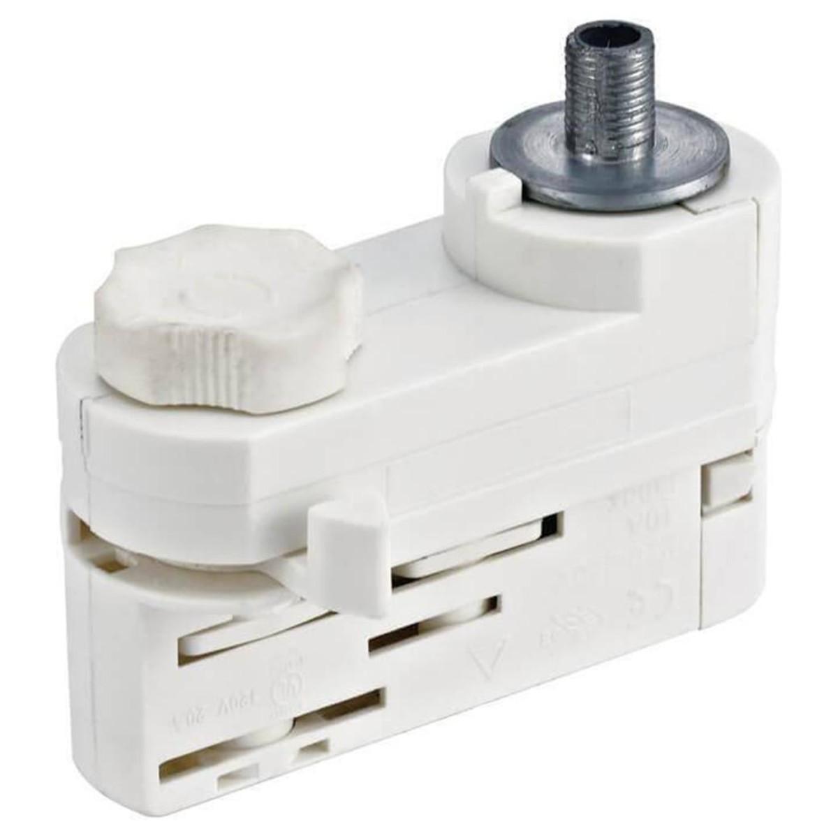 Адаптер для трехфазного шинопровода Uniel UBX-A 09789 пластик
