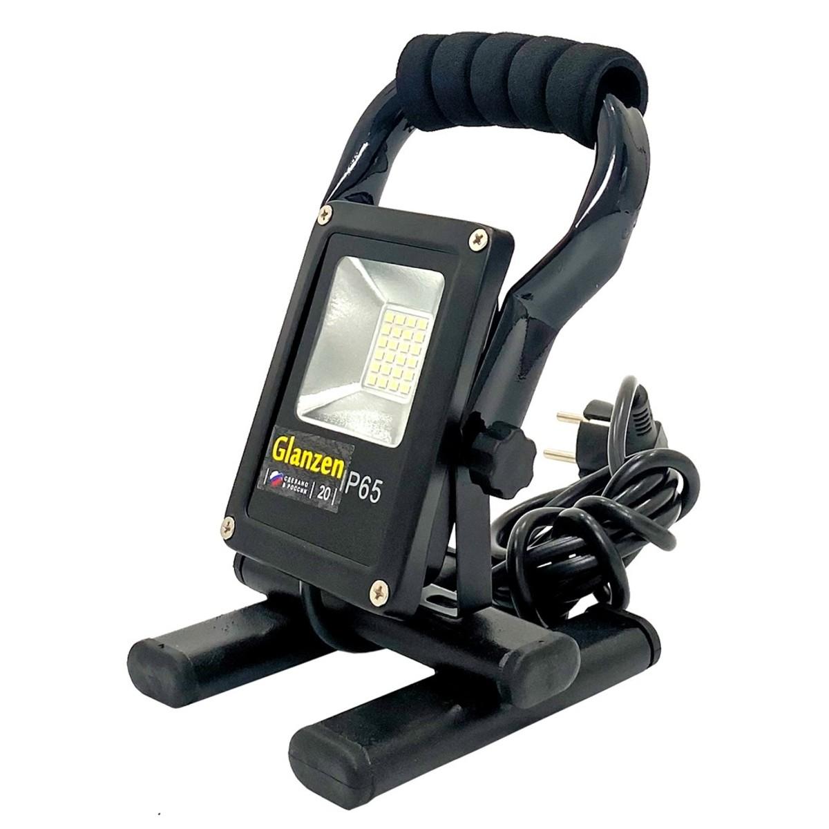 Прожектор уличный светодиодный Glanzen Fad FAD-0014-20 IP65 6500 К 1700 Лм