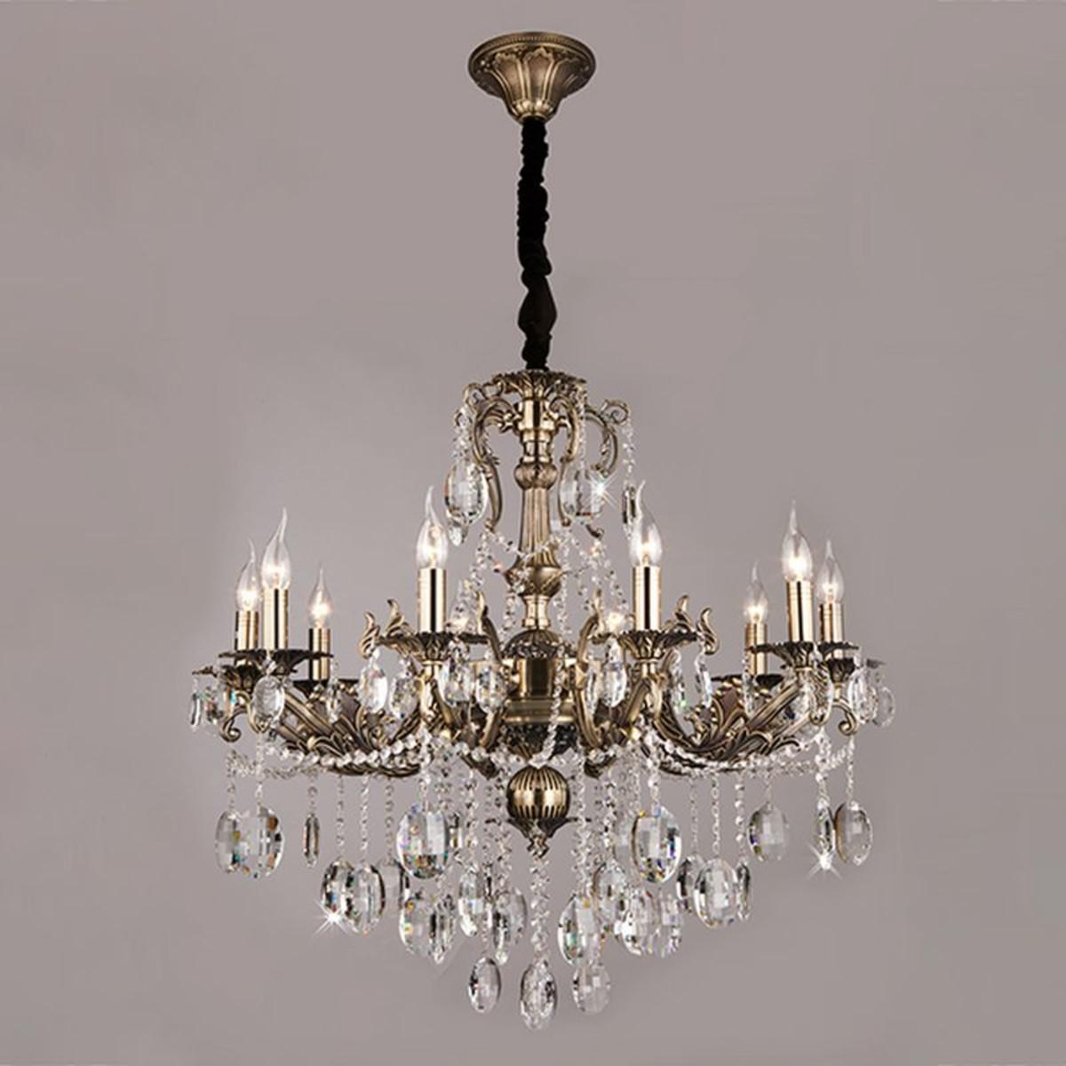 Люстра подвесная Bogate's Fedelia E14 406/10 Strotskis 10 ламп 48 м²