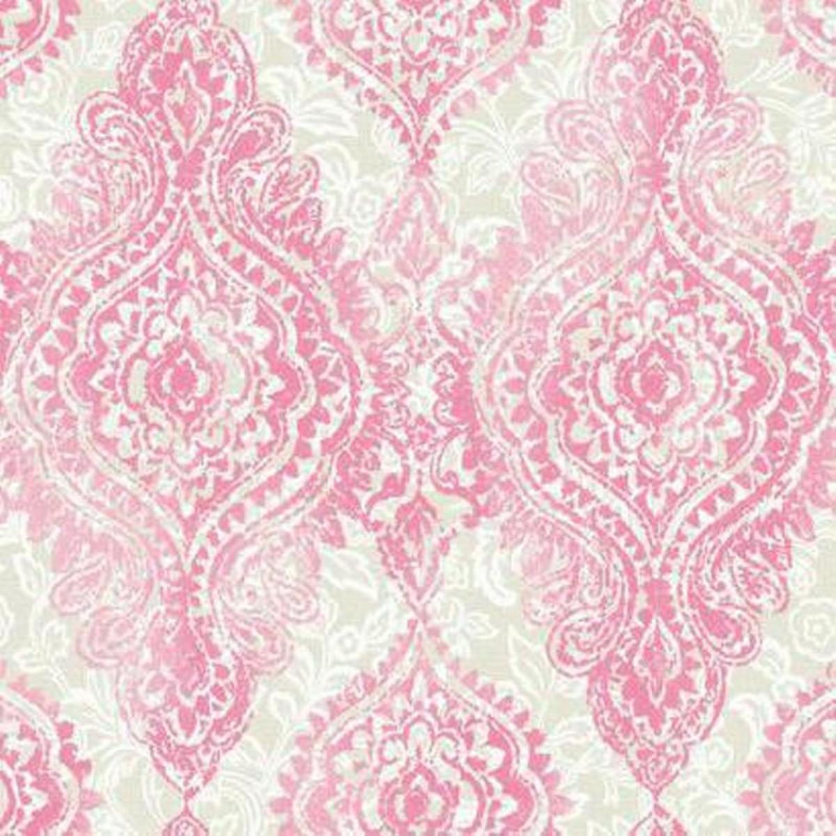 Обои бумажные York Wallcoverings Wallpapher розовые WH2708 0.68 м