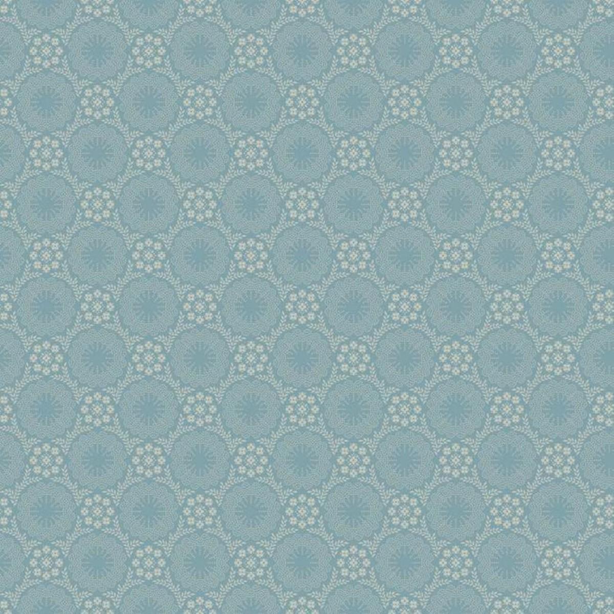 Обои бумажные York Wallcoverings Williamsburg III синие GS6290 0.52 м