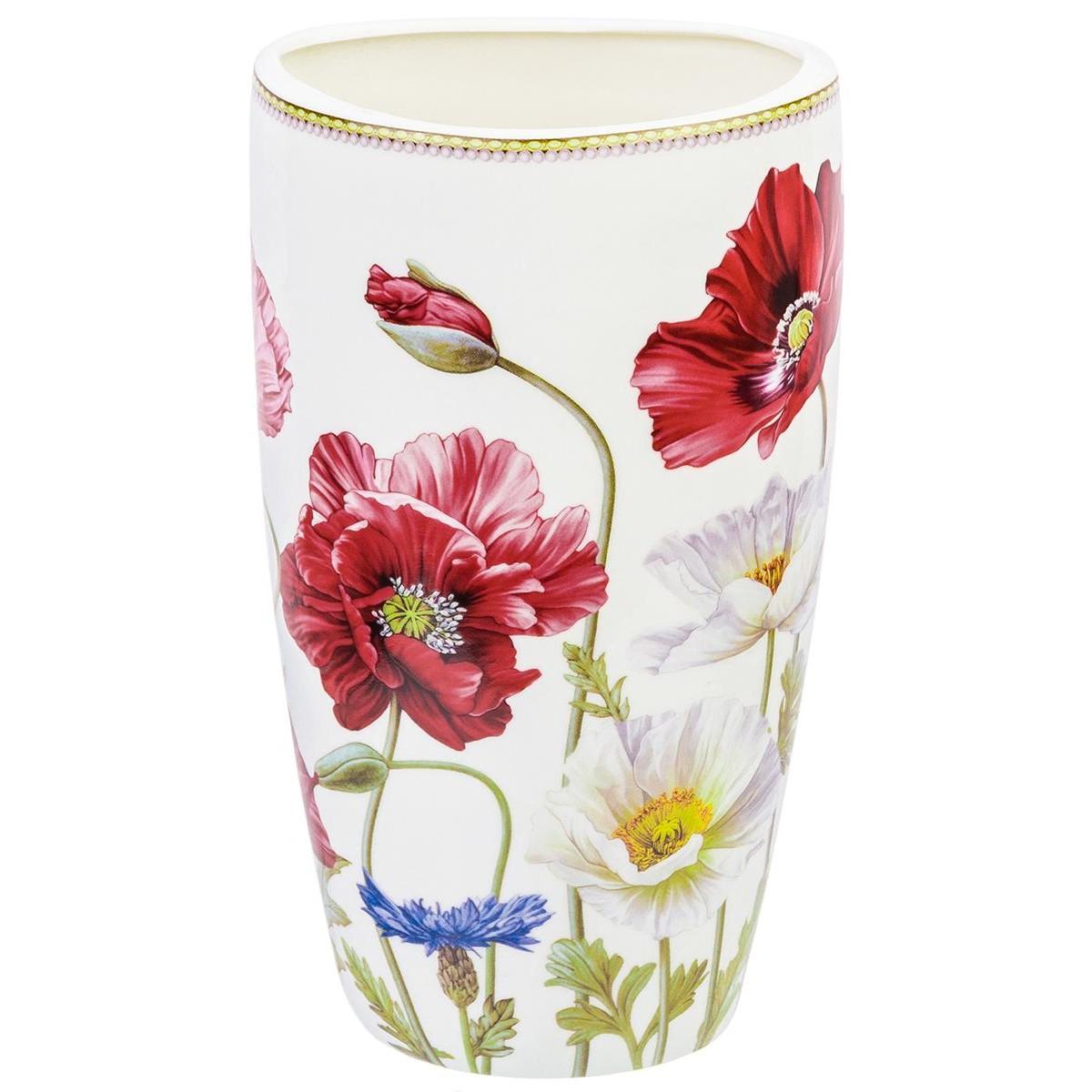 Ваза для цветов Elan Gallery Маки 13*10*225 см 15 л