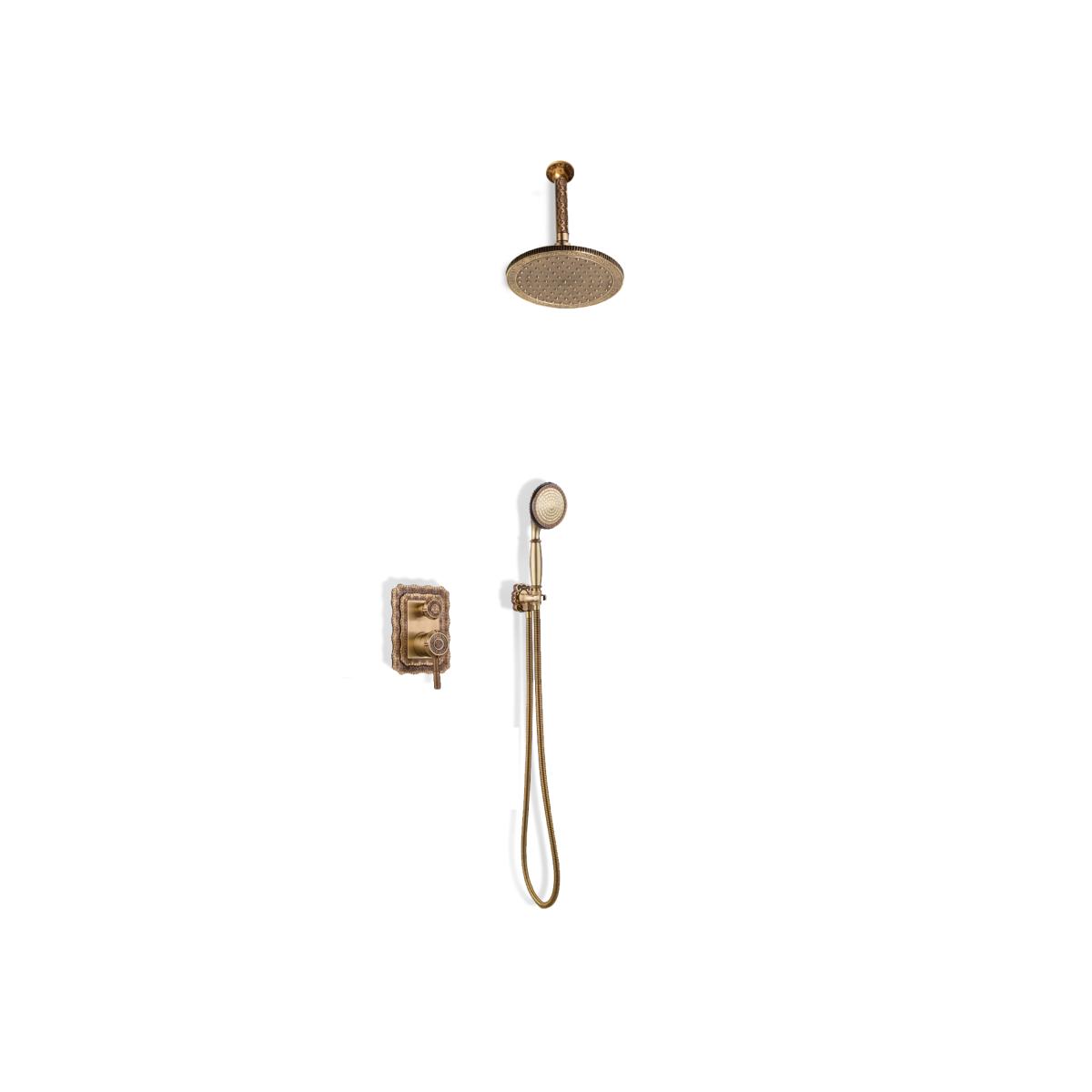 Душевая стойка Bronze de Luxe Windsor 10138/1R
