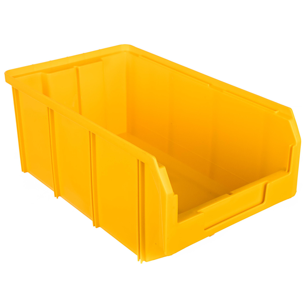 Пластиковый ящик Стелла-техник V-3 желтый 342 х 207 x 143мм 94литр