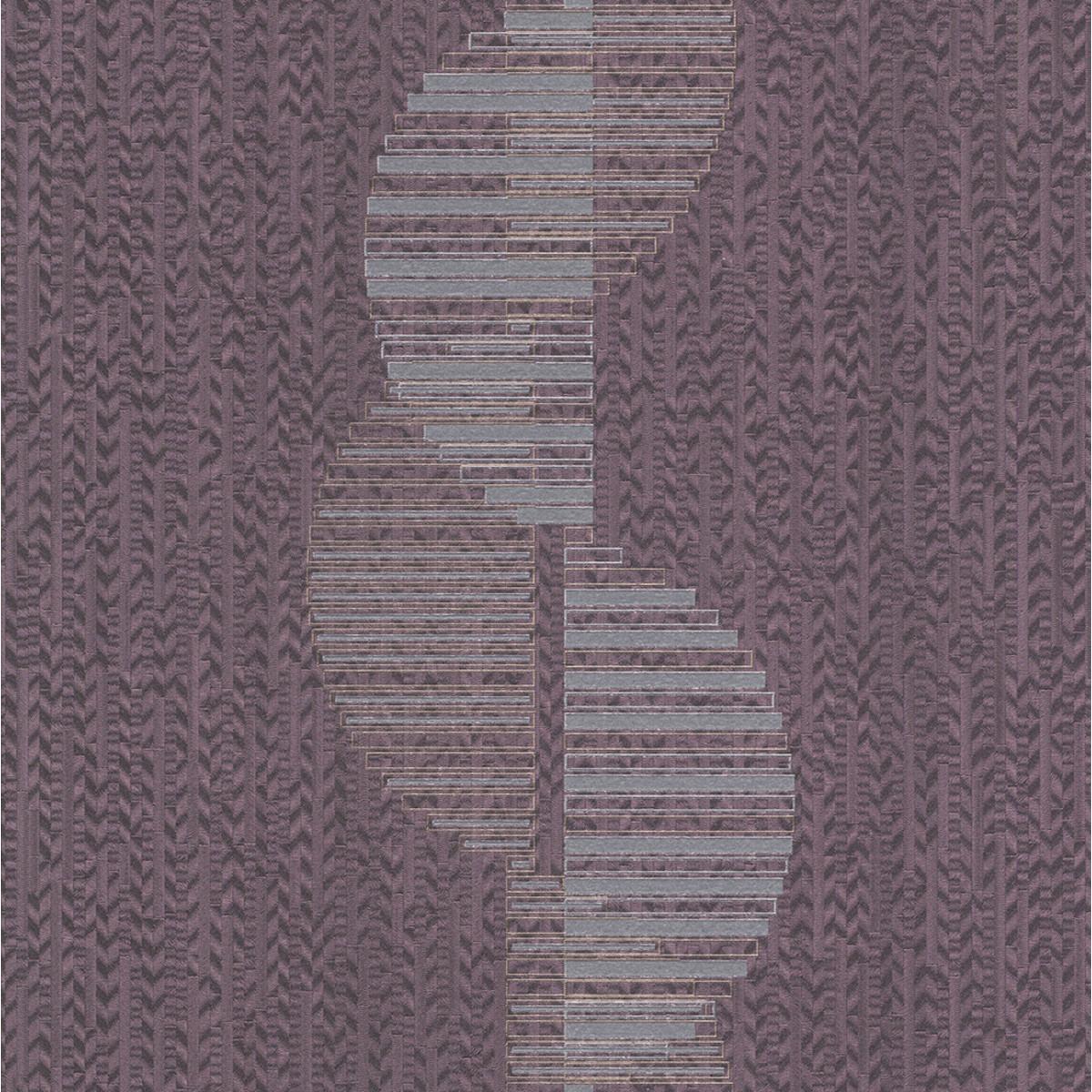 Обои флизелиновые Rasch Miracle фиолетовые 421330 0.53 м