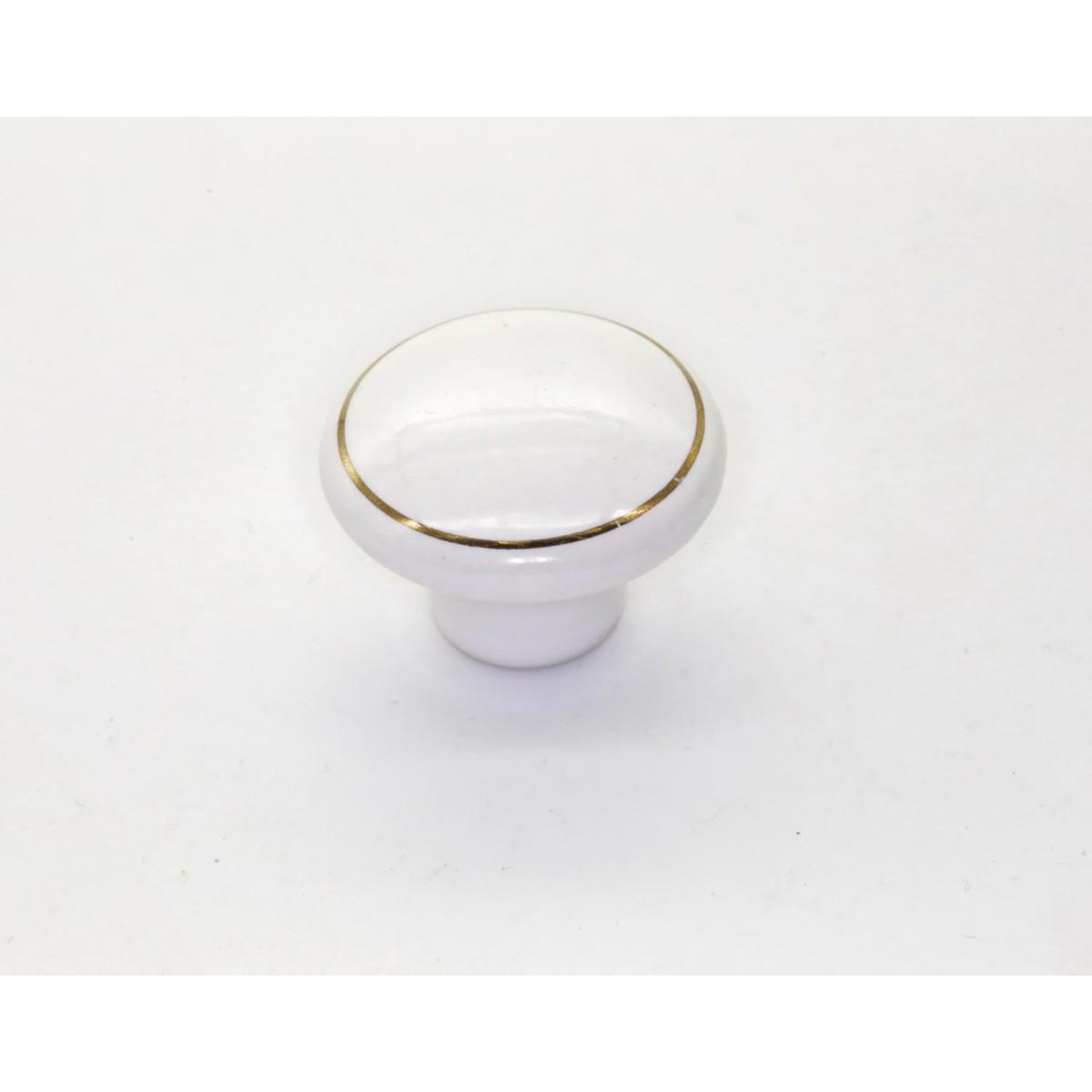 Ручка-кнопка Brante RK.1427.WT.F20 золотое кольцо