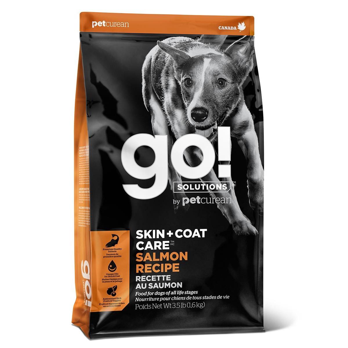 Сухой корм для щенков и собак GO! NATURAL HOLISTIC беззерновой Свежий Лосось и Овсянка 11.3 кг