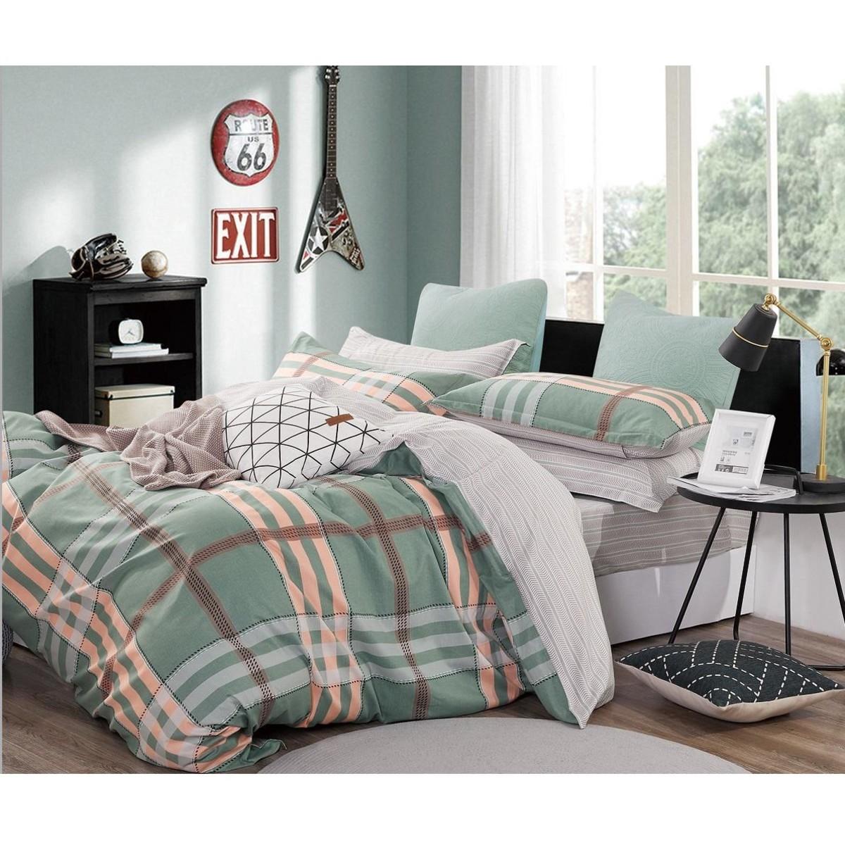 Комплект постельного белья 2-спальный Jardin 3820/160/812