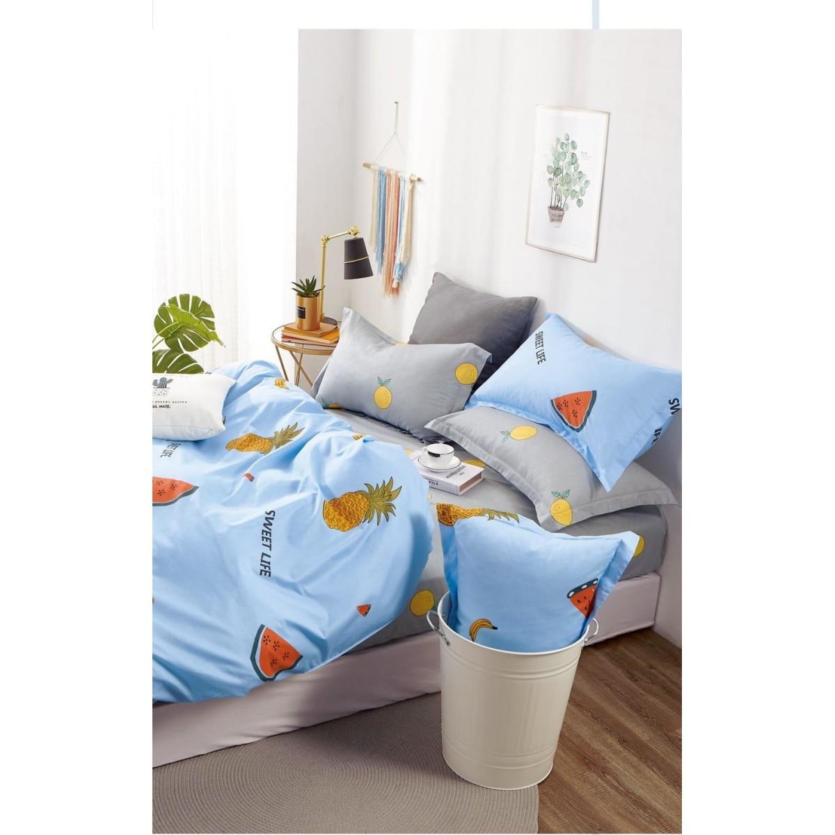 Комплект постельного белья 2-спальный Jardin 3820/160/818