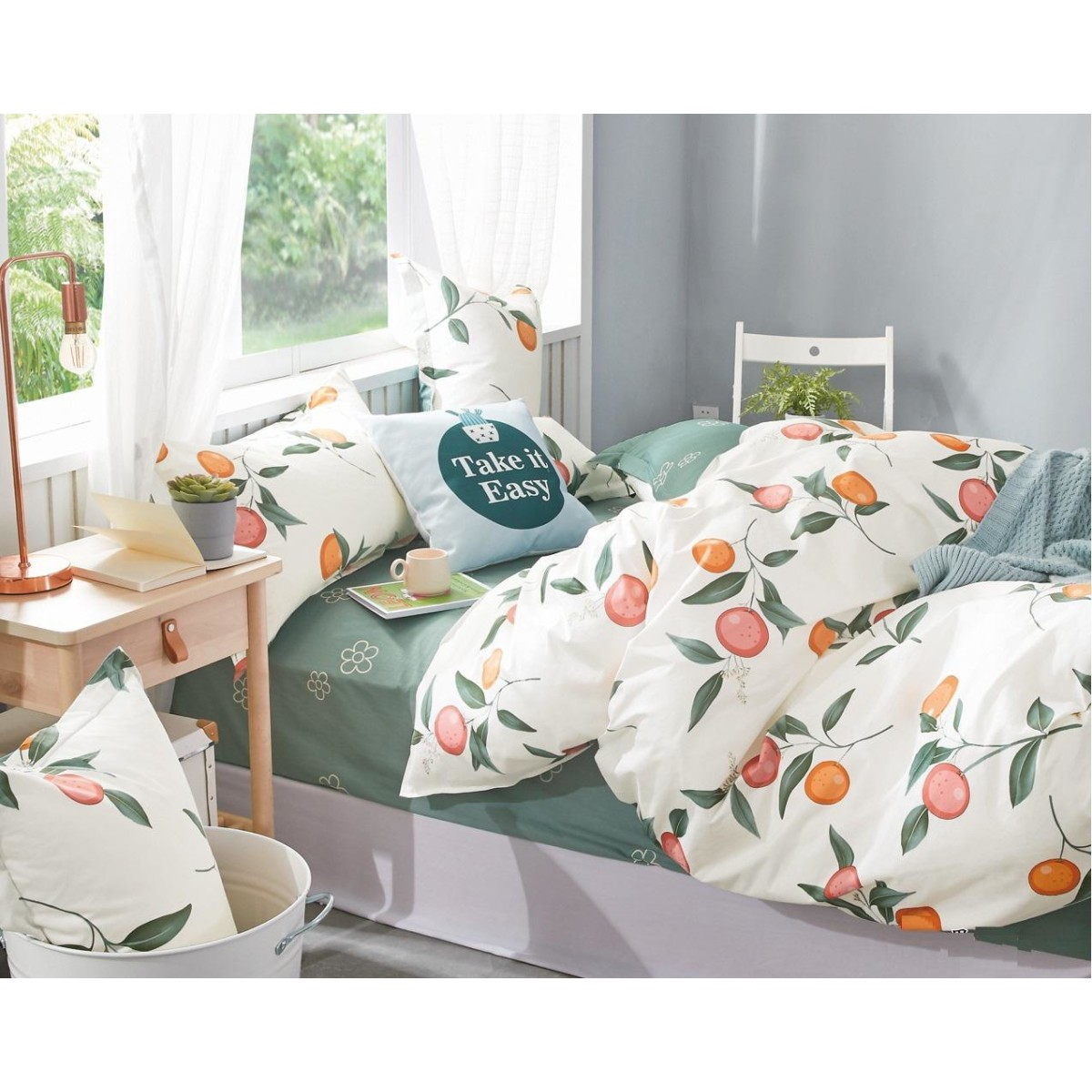 Комплект постельного белья 2-спальный Jardin 3820/160/808