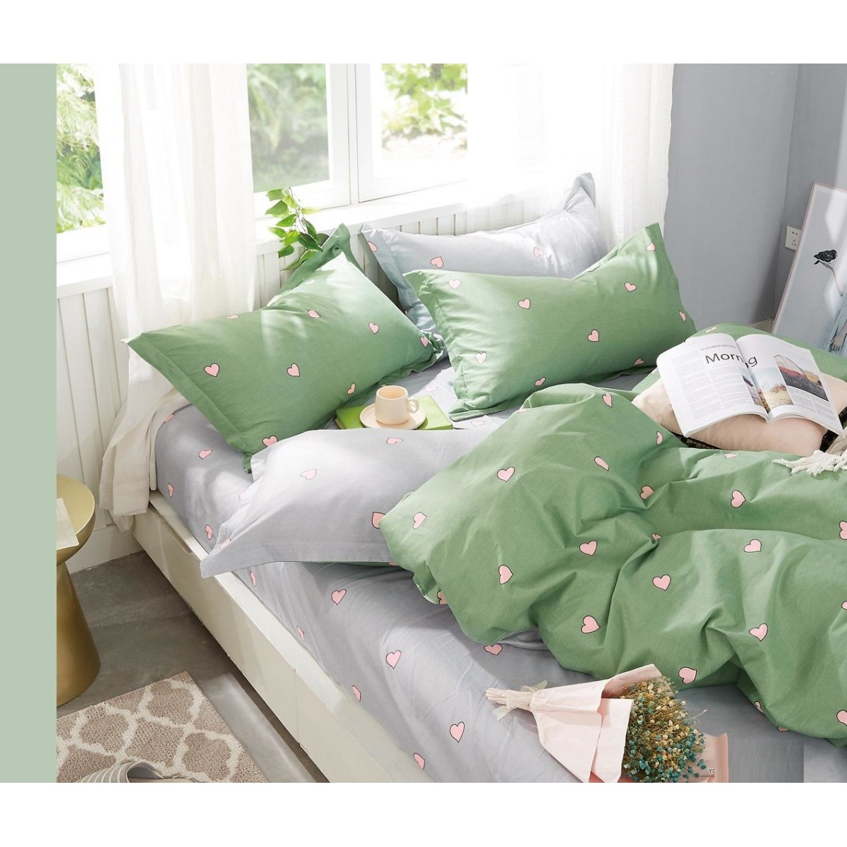 Комплект постельного белья 2-спальный Jardin 3820/160/809