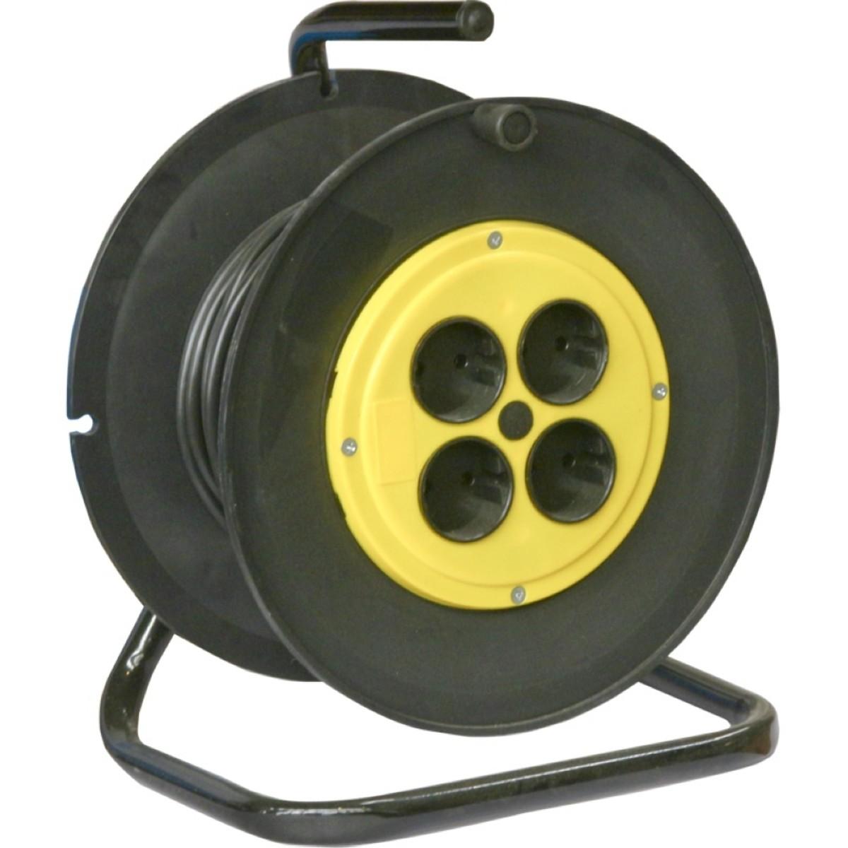 Удлинитель на катушке Калибр УСК-50 (2х075)